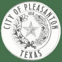 pleasanton-texas-logo-azavar